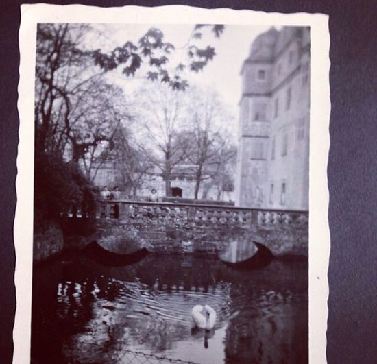 Oldpicture Castle Blackandwhite