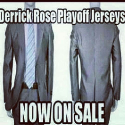 lmao they wrong for this! DerrickRose Playoff Jersey Suit smh lmao tagforlikes tagfortags hilarious nowonsale tweegram