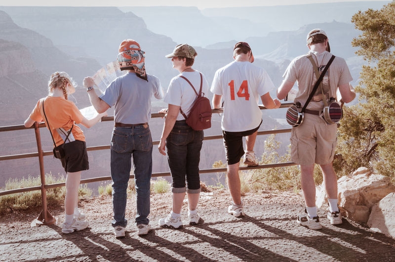 Group of people standing outdoors