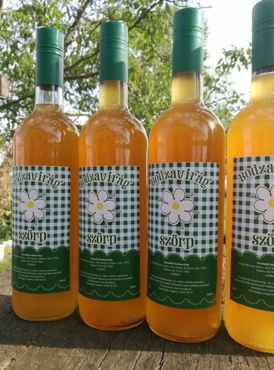 My syrup Bodzaszörp Bodza Elderflowersyrup Elderflower Syrup Elderflower Elderberry Syrup Lomonade Limonade Limonada Freshness Drink Lemon Bottle Orchards