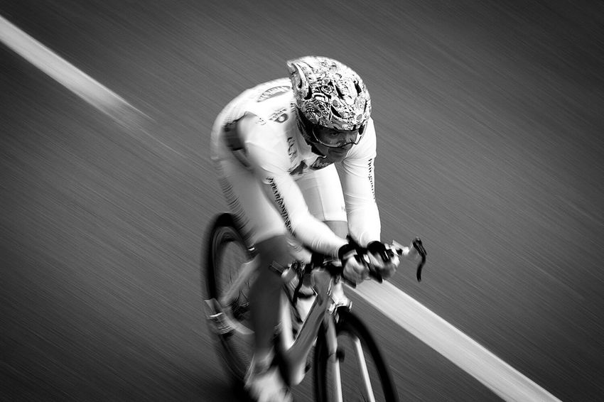 Chrono Celebrate Your Ride Speed Bnw_collection Blackandwhite Action Bnw Bnw_life Cyclist Timetrial Creative Shots