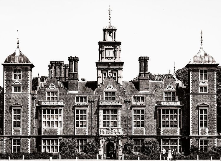 Blickling Hall Blickling Hall Architecture Built Structure Building Exterior Sky Building Low Angle View Travel Destinations No People Travel Tower Clear Sky Tourism The Past History Day Outdoors