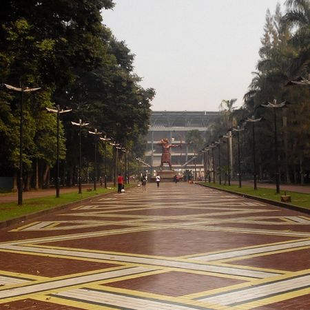 Arjoena di Gedung GBK IndonesiaOutfest Lenovotography Photophone  Lzybstrd Pocketphotography