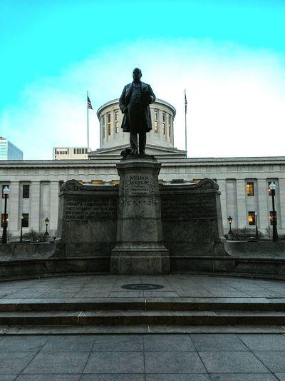 William McKinley. Columbus Columbus Statehouse