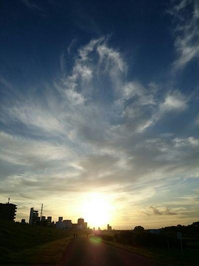 出でよ神龍!そして願いを叶えたまえ!! 神龍 Sky Clouds Cloud Morning Sky Shenron Sunrise Dragonball