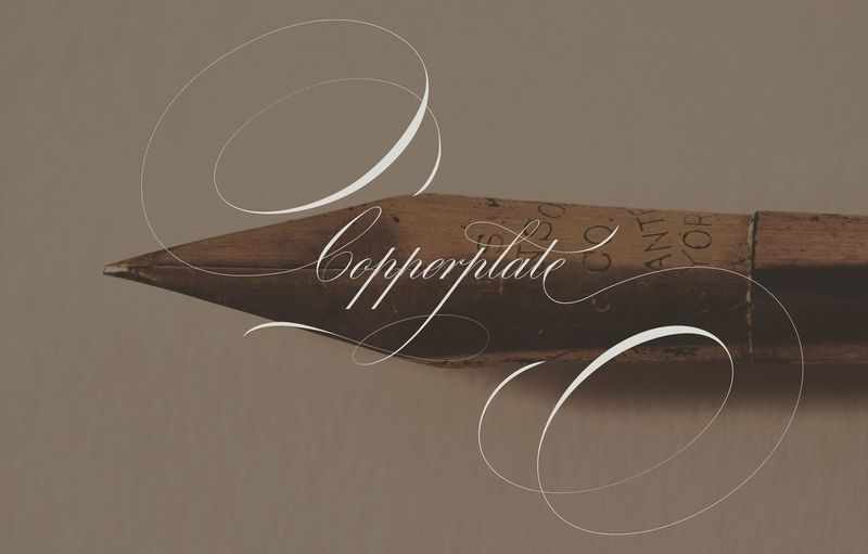 copperplate Calligraphy Roundhand