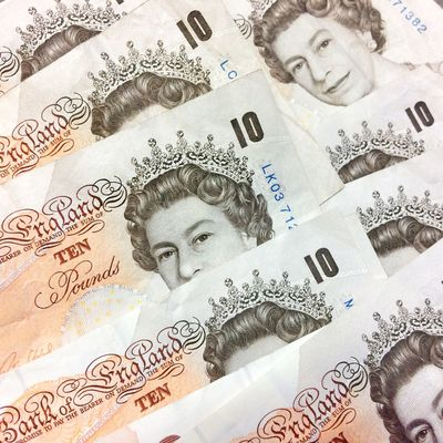 Ten pound £10 British Paper Currency Paper Finance Currency No People Close-up Sterling Pound Payment In Cash Pounds Banking Cash Indoors  Tenner banknotes