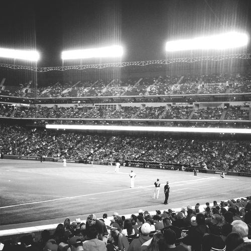 Creative Power Baseball Night Lights Black & White