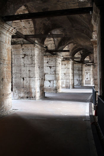Colosseum Rome Abandoned Absence Arcade Arch Architectural Column Architecture Building Built Structure Ceiling Colosseum Corridor Day Empty History Indoors  Nature No People Old Sunlight The Past Window