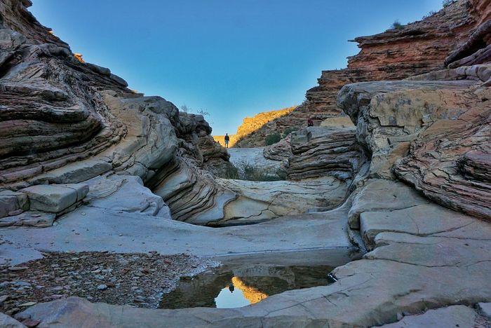 Ernst Tineja trail in Bigbend Westtexas Texas Rock Formation Nationalpark Hiking Trail