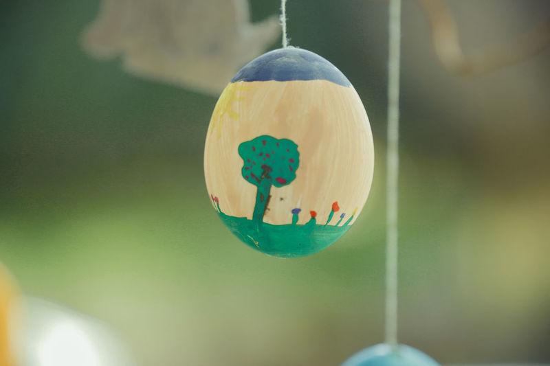 Close-up of decoration hanging