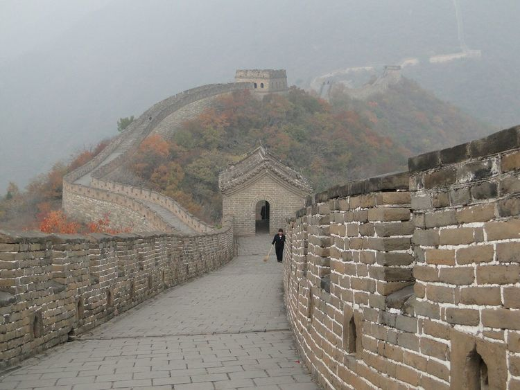 Great Wall Of China Beijing Stones Architecture Built Structure Building Exterior History Outdoors Arch Day Real People Ancient Sky Ancient Civilization Fortress Nature