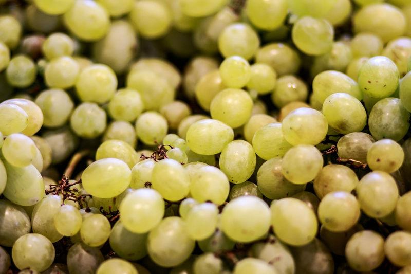 Full frame image of grapes
