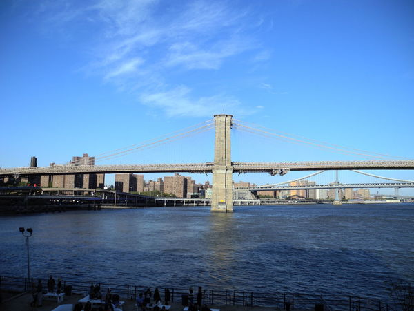 Views of the Brooklyn Bridge Brooklyn Brooklyn Bridge / New York New York Architecture Bay Blue Bridge Bridge - Man Made Structure Building Exterior Built Structure City Connection Day Engineering Outdoors River Sky Suspension Bridge Transportation Travel Travel Destinations Water