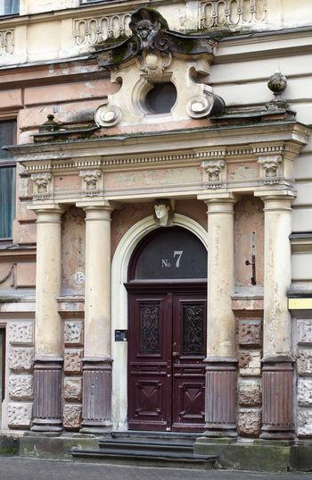 Architecture Art Art Nouveau Art-nouveau Background Building City Decor Detail District Exterior Historical House Jugendstil Jugendstyle Latvia Old Riga Street Structure Style Traditional Window