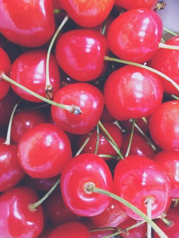 Cherry Yum Summertime Makes Me Happy Family Time ♥ So Red I Ate 20 Of It Full ! Couldn't Stop Addicted EyeEm Gallery With My Love