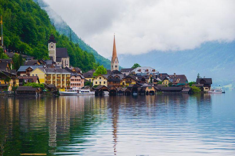 Hallstatt, Austria Europe Austria Lake Travel Travel Photography 100 Days Of Summer