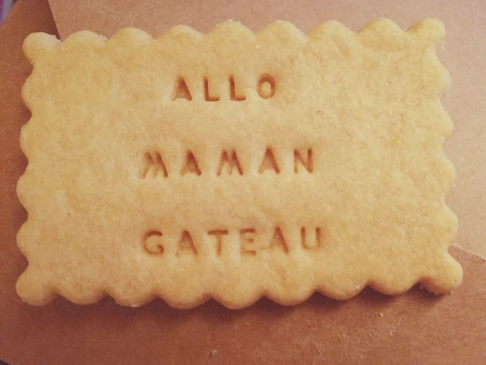 Food And Drink Food Communication No People Indoors  Sweet Food Close-up Day Gateau Allo Maman Visual Feast