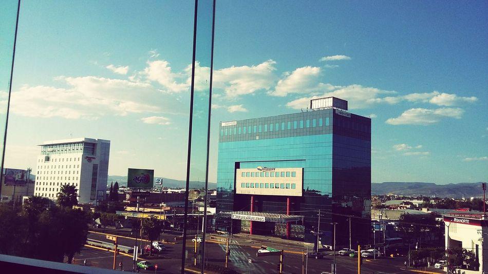 Sky Sky Blue Sky  Sun ☀ Bulding City Life c City Leon Cars