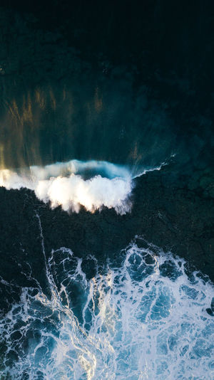 air view Motion Beauty In Nature Water Sea Aquatic Sport No People Scenics - Nature Wave Power Nature Power In Nature Speed Outdoors Splashing Breaking Wave Waves Waves, Ocean, Nature Waves Crashing Drone  Dronephotography EyeEm Best Shots EyeEmNewHere EyeEm Nature Lover EyeEm Gallery