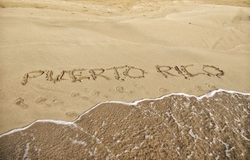 Wonderful vacation Sand Beach Outdoors High Angle View FootPrint Nature Full Frame Backgrounds Close-up Let's Go Smarter EyeEm Gallery Conversation Text Water Puerto Rico Vacation Travel Written In The Sand Wave Let's Go. Together. Sommergefühle Been There. Be. Ready.