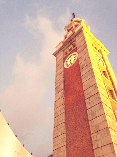 Tsimshatsui Clock Tower SunsetSky
