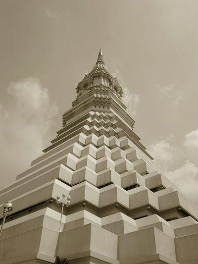 พระมหาเจดีย์มหารัชมงคล,Wat Pak Num. Photo Of The Day.r Thailand_allshots Urban Sculpture EyeEm Thailand .