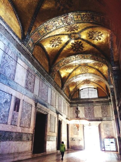 Gold Ottoman Ottoman Empire Ottomans Ottoman Style Blue Yellow Old Old Buildings Ceiling Ceiling Design Tiled Floor Tile Ottoman Architecture Ottoman Art Ottomanpalace Ottomanempire Ottoman Life One Person Religion History Old Places Lamb Wall White
