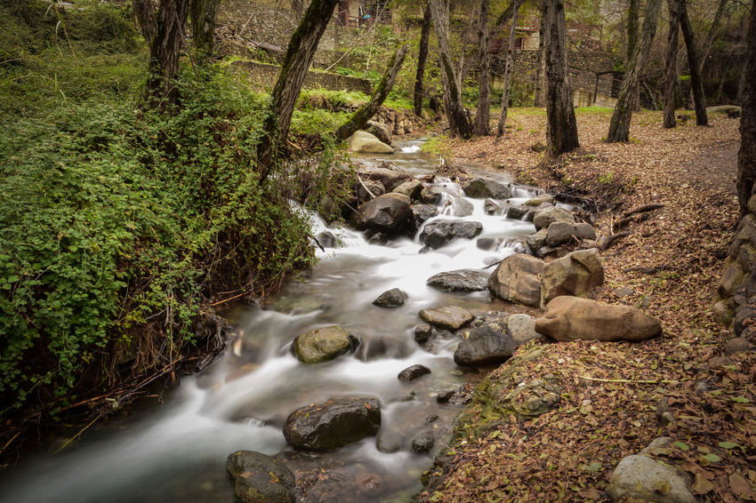 Cyprus Travel Beauty In Nature Blurred Motion Discovery Flowing Water Forest Kakopetria Landscape Long Exposure Motion Nature No People Outdoors Scenics Stream Stream - Flowing Water Tranquil Scene Tranquility Tree Water Waterfall