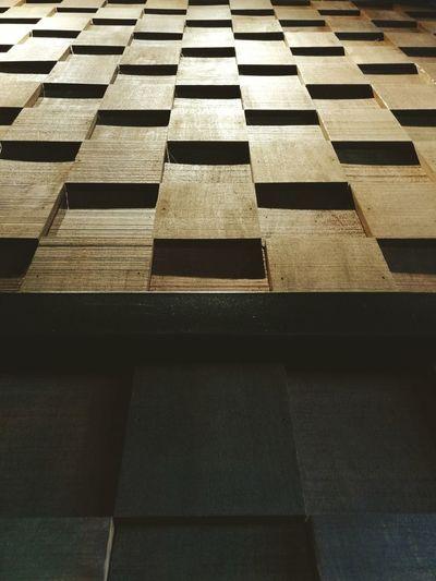 Full frame shot of patterned footpath