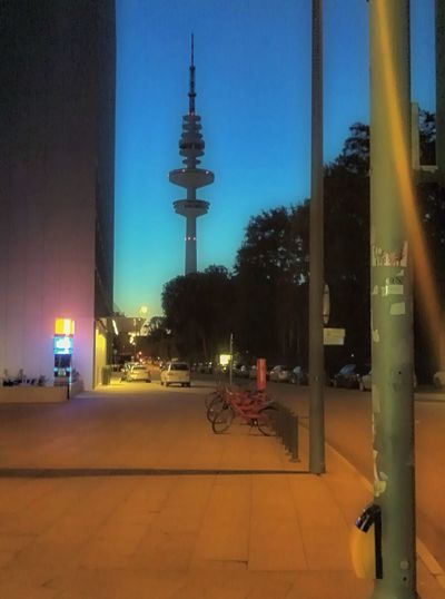 Summer Evening Mood Hamburg Evening Sky Saturday Night Streetphotography Nightphotography Blurred Urban Jopesfotos - Urban