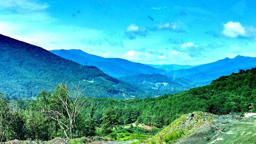Mountains Valley Skyporn