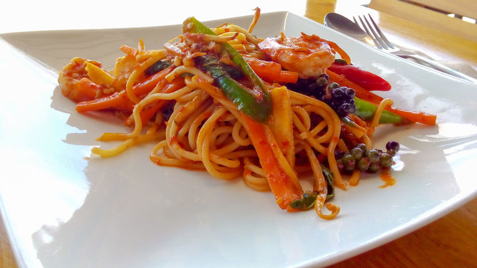Spaghetti Foods อาหาร สปาเก็ตตี้ขี้เมาทะเล