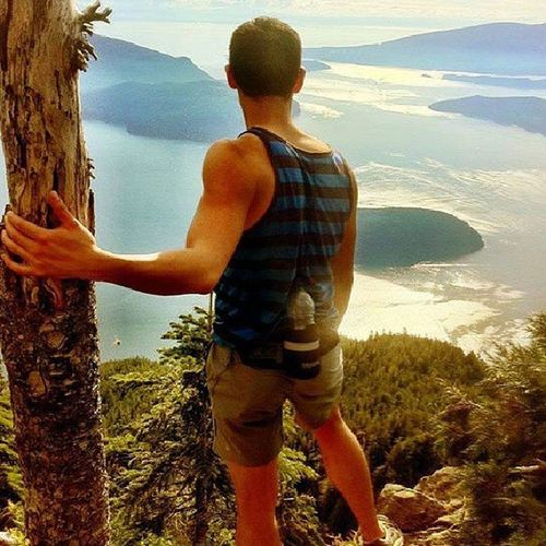 Stmarkstrail Cypressmountain Amazinghike Selfie Instagay Gay Vancouver Breathless Britishcolumbia