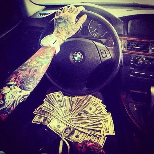 Bmw 335i Young Money tattoo