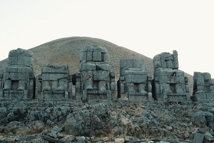 Nemrut Turkey Ancient View