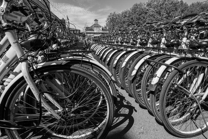 Bikes, London
