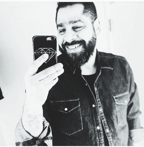Selfie ✌ IPhone Diamond Denimshirt Beardlife Casual Clothing Mirror Smile :)