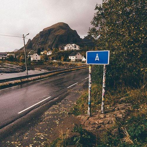 Welcome to Å. A E10 Endoftheroad Norway Lofotenislands Lofoten Road Ig_nordnorge