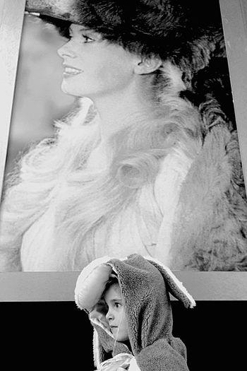 Double Donkey Similarity Disguise Exhibition EyeEm Best Shots Catherine Deneuve EyeEm Best Shots - Black + White EyeEm Bnw B&W Portrait Peaux d'âne - Donkey Skins, exposition Le monde enchanté de Jacques Demy. Printemps 2013. Exhibition The enchanted world of Jacques Demy. Perfect Match