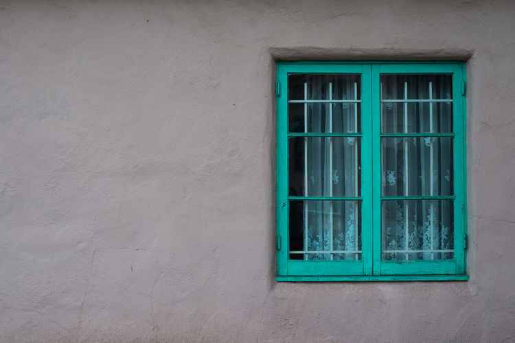 Window Of An Old Rustic House