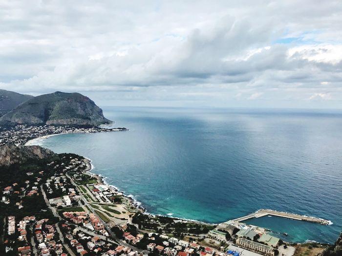 Addaura e Mondello Sicily Palermo Sky Scenics - Nature Beach Outdoors Nature No People