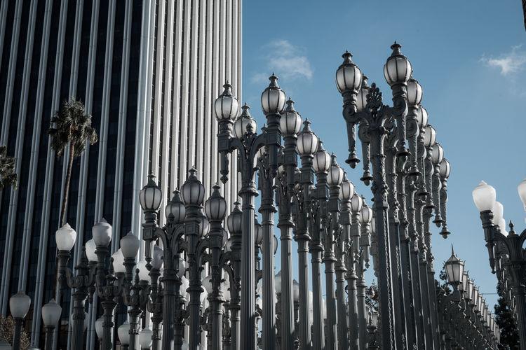 Lacma Lacma Lights Lacmamuseum Los Angeles, California USA Arts Culture And Entertainment Art Architecture Design Daylight Public Places Summer Art Installation Installation