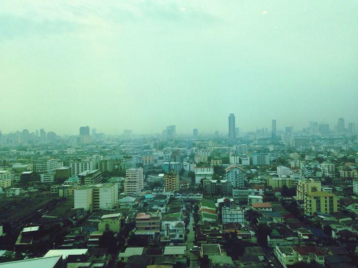 Afternoon bangkok view Afternoon Bangkok Thailand. View Landscape Building View Bangkokscape