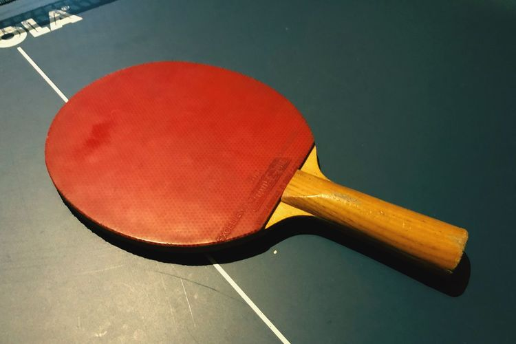 Fotobox Sport Table Tennis Competition Sports Equipment Racket Indoors  Red