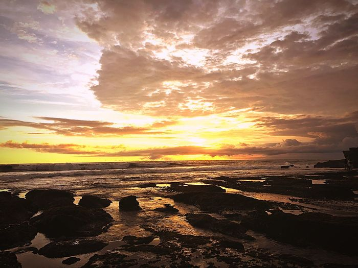 Bali Sunset Beach No People Beauty In Nature Landscape Nature Outdoors Water Sky INDONESIA Travelling Beatiful Bali, Indonesia EyeEmIndonesiaKu EyeEmIndonesiaCommunity Romantic