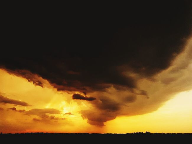 Sunset Landsape Sky And Clouds Cloud - Sky Sunset_collection Water Lightning Sky Extreme Weather