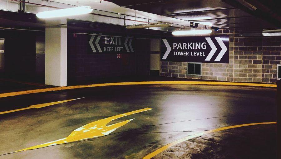 Parkland No People Parking Garage IPhoneography