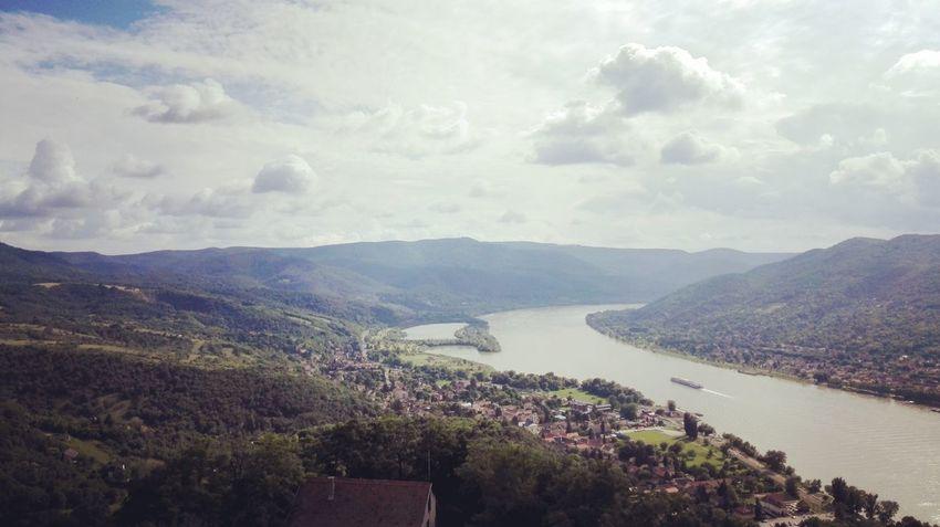 Landscape Nature Sky Outdoors Mountain Hungary Visegrad Visegrád-Hungary Duna Danube Danube River River Donau