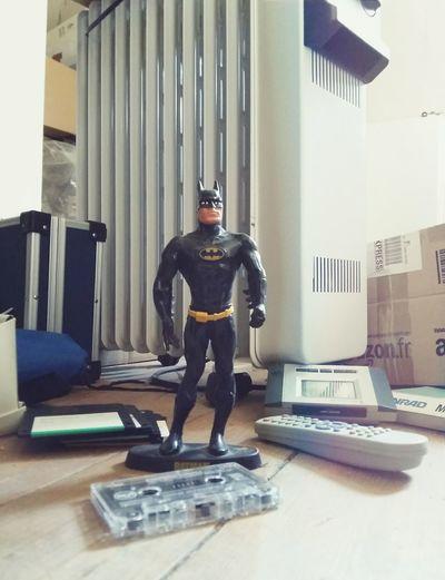 my 80's batman (with no cape) - guardian of the attic ☺ Batman Attic Toys In The Attic 80's Memories Days Of Yore Superhero Superheroes